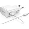 Töltő: Samsung ETA-U90EWE 2A fehér hálózati töltőfej + micro usb adatkábel EP-DG920UWE