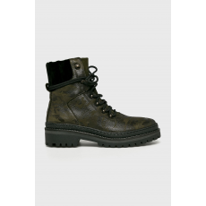 Tommy Hilfiger - Magasszárú cipő - katonai - 1447541-katonai