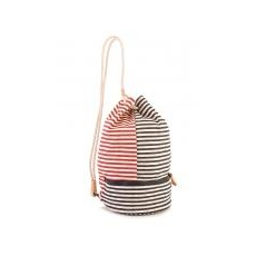 TommyHilfiger Beach Stripes Drawstring Bag
