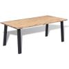 tömör akácfa étkezőasztal 180 x 90 cm