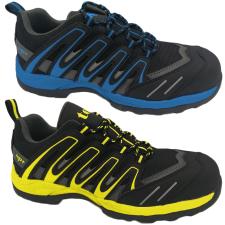 TOP AGISZ S1P SRC (F1716 Y) védőfélcipő, kompozit orrmerevítő, kevlár talplemez, EVA-gumi talp, sárga, 46 munkavédelmi cipő