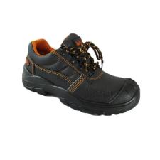 TOP DAVOS O1 SRC védőfélcipő, bőr felsőrész, narancs bélés, fekete, 45 munkavédelmi cipő