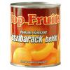 Top Fruits őszibarack gyümölcsbefőtt 820 g felezett, hámozott