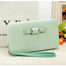 TOP Női pénztárca, borítéktáska Világos zöld