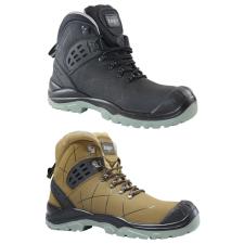 TOP TS 4949 S3 SRC védőbakancs, kompozit orrmerevítő, kevlár talplemez, nubuk bőr felsőrész, barna, 43 munkavédelmi cipő