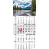 TOPTIMER T079, 1 tömbből álló 4 havi speditőr naptár - Hegy fejrésszel