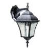Toscana kültéri oldalfali lámpa (E27) antik ezüst
