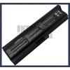 Toshiba PABAS228 6600 mAh 9 cella fekete notebook/laptop akku/akkumulátor utángyártott