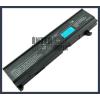 Toshiba Satellite A80 series 4400 mAh 6 cella fekete notebook/laptop akku/akkumulátor utángyártott