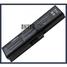 Toshiba Satellite L650-12P 4400 mAh 6 cella fekete notebook/laptop akku/akkumulátor utángyártott toshiba notebook akkumulátor
