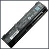 Toshiba Satellite P855D 6600 mAh 9 cella fekete notebook/laptop akku/akkumulátor utángyártott