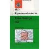 Totes Gebirge, Ost turistatérkép - Alpenvereinskarte 15/3