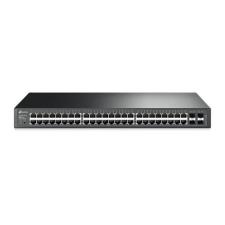 TP-Link Switch 48x1000Mbps + 4xGigabit SFP, Menedzselhető, T1600G-52TS(TL-SG2452) hub és switch