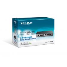 TP-Link TL-SG108E 8 portos gigabites Easy Smart Switch hub és switch