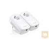 TPLINK TP-Link TL-PA8010P AV1200 Gigabit Powerline Adapter AC PassThrough (Twin Pack)