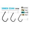 Trabucco SHINKEN HOOKS ISEAMA W/R BN #14 10db horog