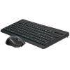 TRACER Islander vezeték nélküli 2.4GHz Membrános LED-es fekete Gaming billentyűzet + egér