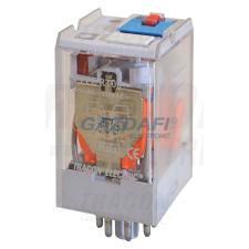 TRACON RT08-48AC Ipari teljesítmény relé 48V AC / 2×CO (10A, 230V AC / 28V DC) villanyszerelés