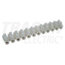 TRACON S60A-H-L Flex. nyomólemezes sorozatkapocs, H profil, 12 tag, natúr 25mm2, 450VAC, 80A, PP villanyszerelés