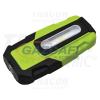 TRACON STLUSB2W Akkumulátoros LED kézi lámpa USB töltő kimenettel 2 W, 6000K, 3,7V, 1800mAh, 200 lm, IP44, 3 h