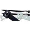 TRACON TRAC.121 Kábelkötegelő, 98x2,5 mm; fekete