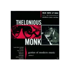 TRADER KFT - INDIEGO Thelonious Monk - Genius Of Modern Music Vol.1 (Cd) jazz