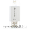 Transcend JDG for iphone, iPad, iPod, 32GB,Lightning connector, fehér pendrive