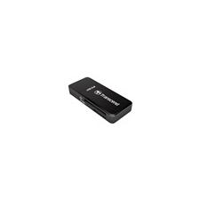 Transcend RDP5 SD kártyaolvasó, USB, fekete memóriakártya