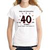Tréfás póló 40 éves (M)