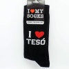 Tréfás zokni I love Tesó (41-45-ös)
