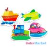 Trefl Baby: Járművek 4 az 1-ben puzzle