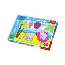 Trefl : Peppa malac nyaral 24 darabos maxi puzzle puzzle, kirakós
