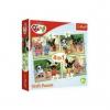 Trefl puzzle és társasjáték Bing nyuszi négy az egyben Trefl puzzle