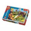 Trefl puzzle és társasjáték Sam a tűzoltó segítségre készen puzzle 30 db-os