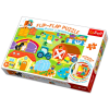 Trefl Trefl: Ablak nyitós puzzle - Farmon
