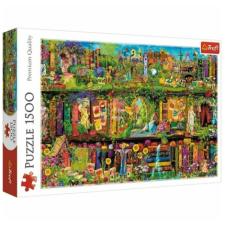 Trefl Tündér könyvespolcok 1500 db-os prémium puzzle – Trefl puzzle, kirakós