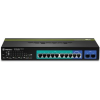 Trendnet TPE-1020WS 10-Port Gigabit Web Smart PoE rack switch