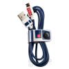 TRIBE Star Wars  Apple Iphone lightning adatkábel, 1,2m, MFI engedélyes R2-D2, sötétkék
