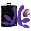 Tripla, tartópánt nélküli felcsatolható dildó (lila)