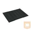 """TRITON RAB-UP-650-H4 650mm perforált polc rack szekrénybe, 1U, 19"""", terhelhetősége 150kg"""