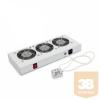 TRITON RAC-CH-X26-X1 Ventilátor egység termosztáttal, RUA típusú rack szekrényekbe
