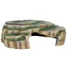 Trixie 30x10x25 cm poliészter gyantás hüllő barlang