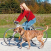 TRIXIE biciklis póráz (2,5x1-2 m)