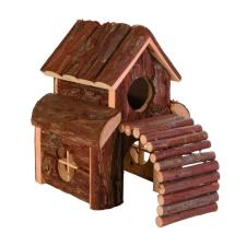 Trixie Ház Fából Hörcsögnek Feljáróval Finn 13×20×20cm játék rágcsálóknak