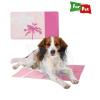 Trixie Hûtõ matrac trópusi mintával 40*30cm pink