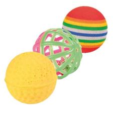 Trixie Játék labda 3db-os vegyes 3,5-4cm macskaeledel