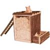 Trixie játszó és ásó torony egereknek és hörcsögöknek (25 × 24 × 20 cm)