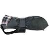 Trixie Paris vízálló fekete kutyakabát kivehető flanel béléssel, kockás mintával (S | Haskörméret...