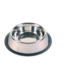 Trixie Tál fém gumiperemes 0.45l/14cm kutyatál