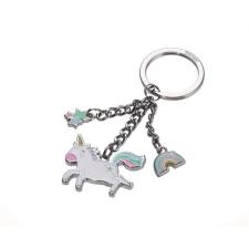 """Troika Kulcstartó, 3 charm dísszel, TROIKA """"Happy Unicorn"""" kulcstartó"""